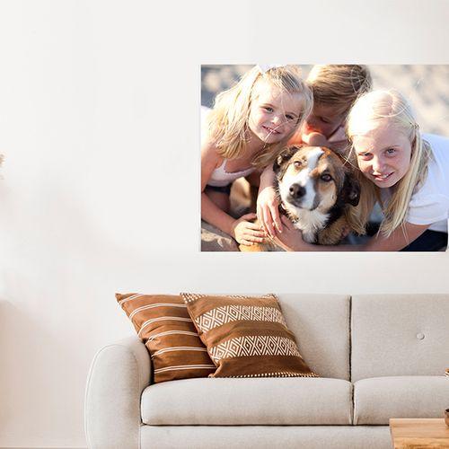 Je mooiste foto op een muursticker (60 x 40 cm)