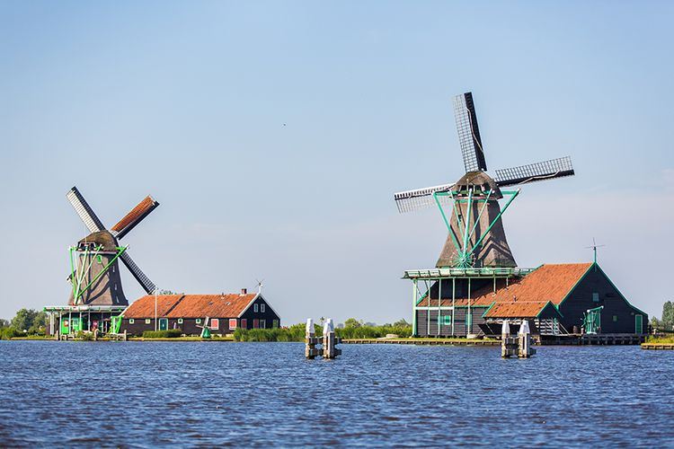 Cruise langs de molens op de Zaanse Schans (2 p.)