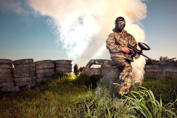 Paintball of Airsoft in Rotterdam (12 p.)