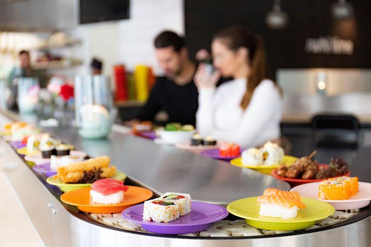 40% korting op je diner bij Sushi Time WTC in Amsterdam