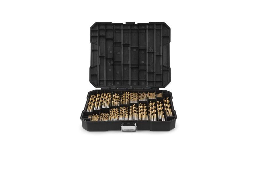 170-delige borenset van Wolfgang in zwarte koffer