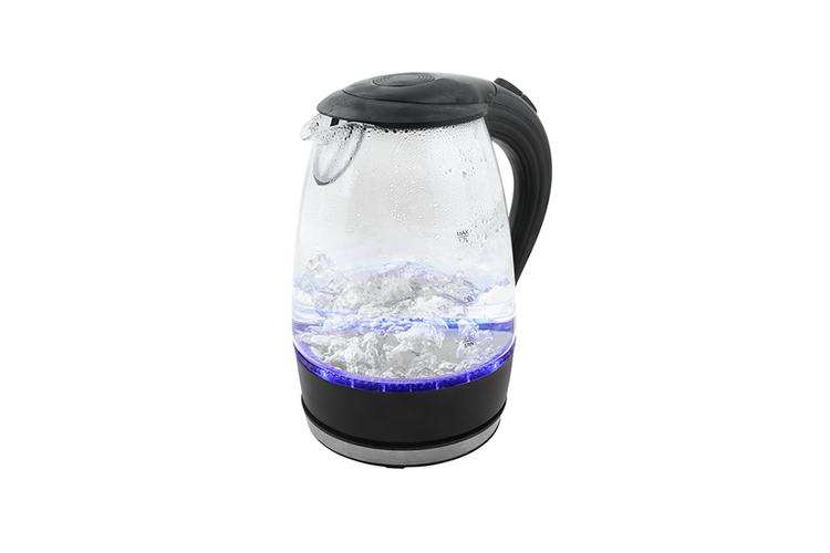 Waterkoker glas glazen waterkoker met led verlichting 1 for Waterkoker led verlichting