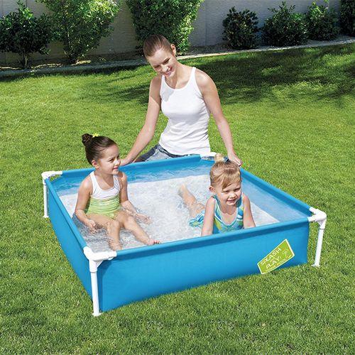 Rechthoekig kinderzwembad
