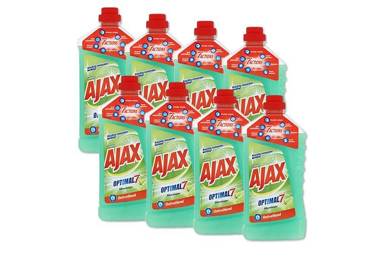 8 flessen allesreiniger van Ajax (8 x 1 liter)