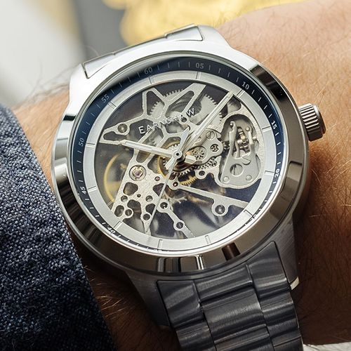 Automatisch herenhorloge van Thomas Earnshaw