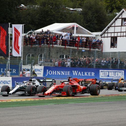 Vrije training Formule 1 GP