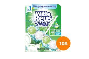 10 toiletblokjes van Witte Reus