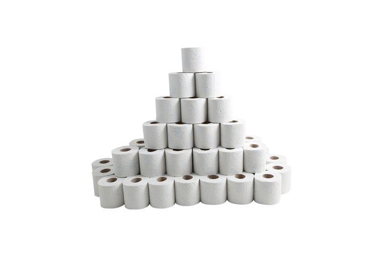 3-laags superzacht toiletpapier (72 rollen)
