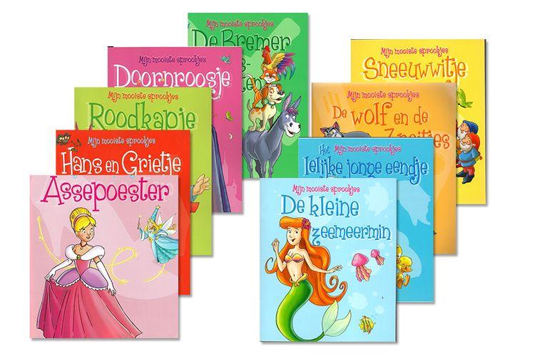 Boekenpakket met 9 bekende sprookjes
