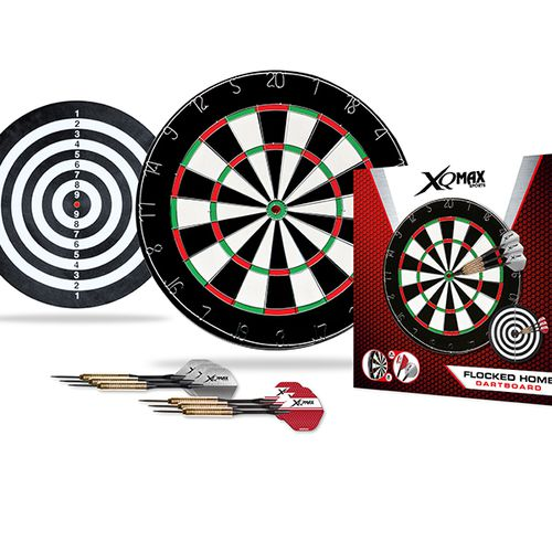 Dartbord voor beginners inclusief 6 pijltjes