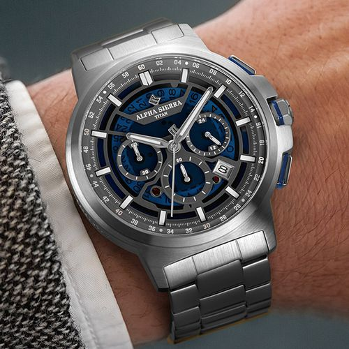 Titan herenhorloge van Alpha Sierra (SBS05)