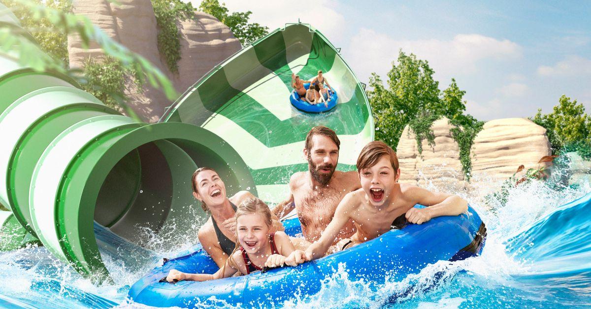 Tickets pour Bellewaerde Aquapark (2 p.)