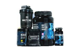 5-delig sportvoedingpakket van Matchu Sports