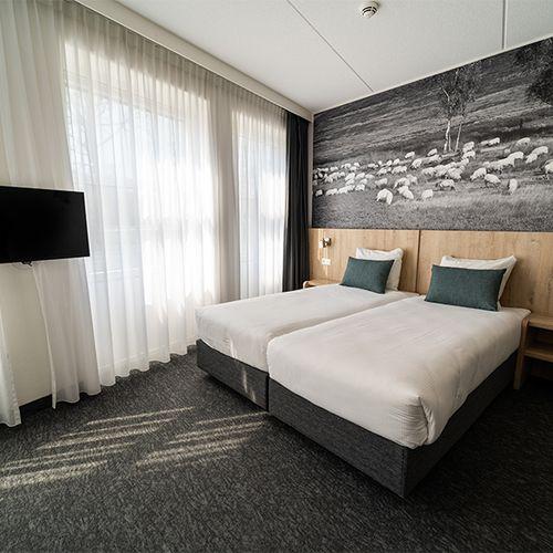 Overnachting met ontbijt in hotel De Bonte Wever