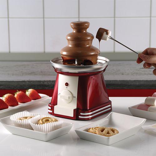 Rode chocoladefontein van SwissHome