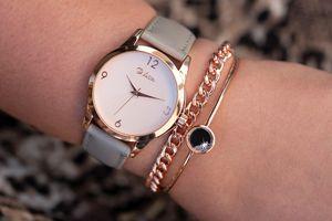 Coffret cadeau avec montre et 2 bracelets Di Lusso