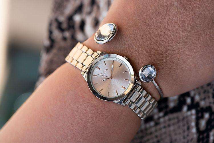 Giftset met horloge en armband van Di Lusso