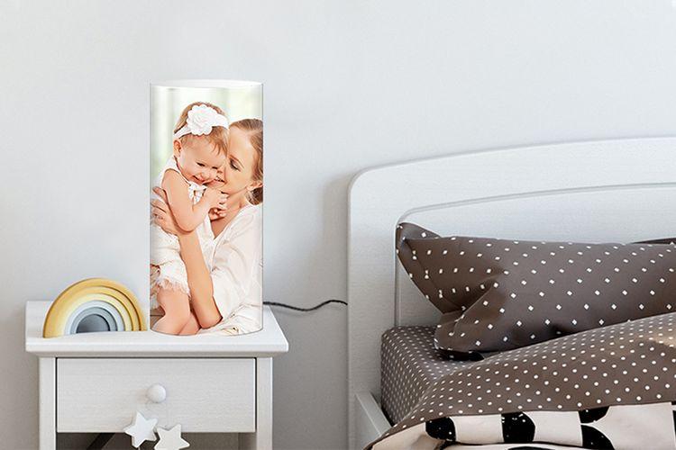 Jouw foto op een fotolamp (45 x 33,5 cm)