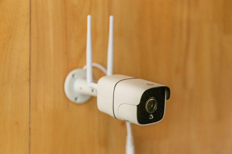 Korting Wifi beveiligingscamera van Hyundai