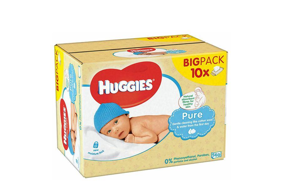 Babydoekjes van Huggies (10 x 56 stuks)