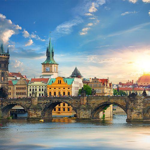VakantieVeilingen 5-daagse treinreis naar Praag