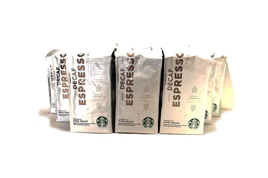 VakantieVeilingen 3 kilo decafe koffiebonen van Starbucks
