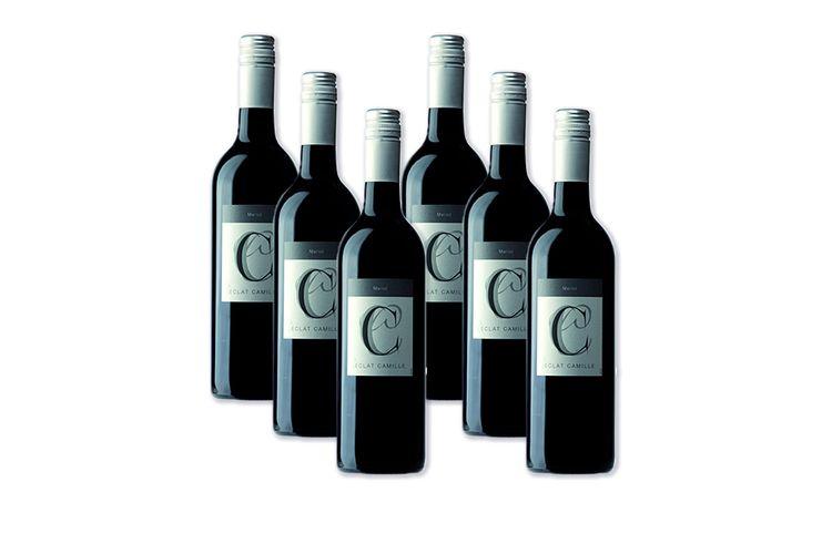 Korting 6 flessen Elcat Camile merlot (750 ml)