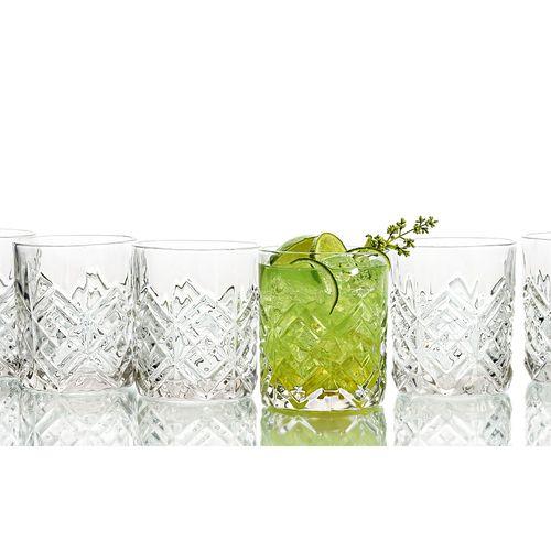 Set van 6 whiskyglazen van Quid (model: Samantha)