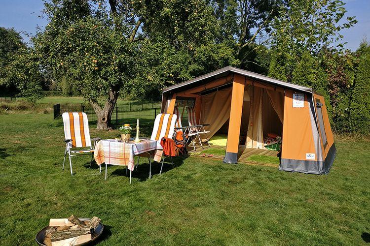 Weekend - midweek in huurtent Nederland of Belgi�