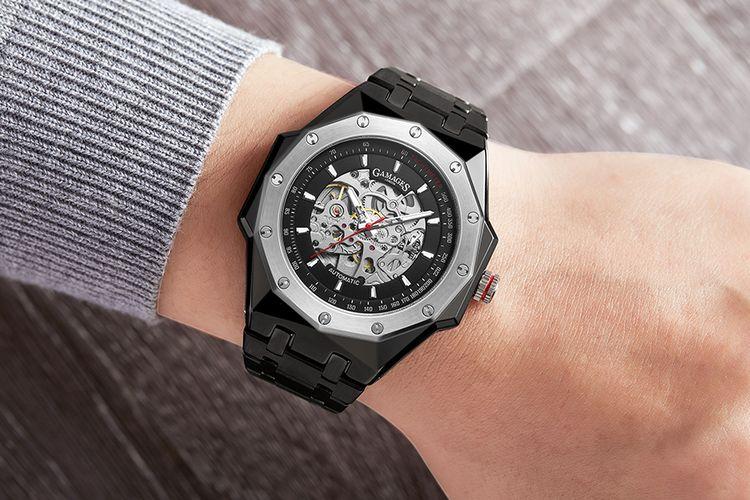 Maverick Automatic Black herenhorloge van GAMAGES