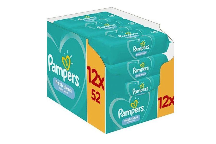Billendoekjes van Pampers (12 pakken)
