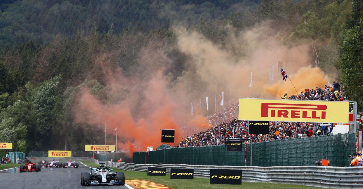 2 tickets pour les qualifications du GP de F1 à Spa