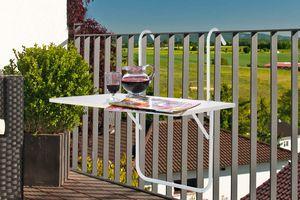 Table de balcon pliable