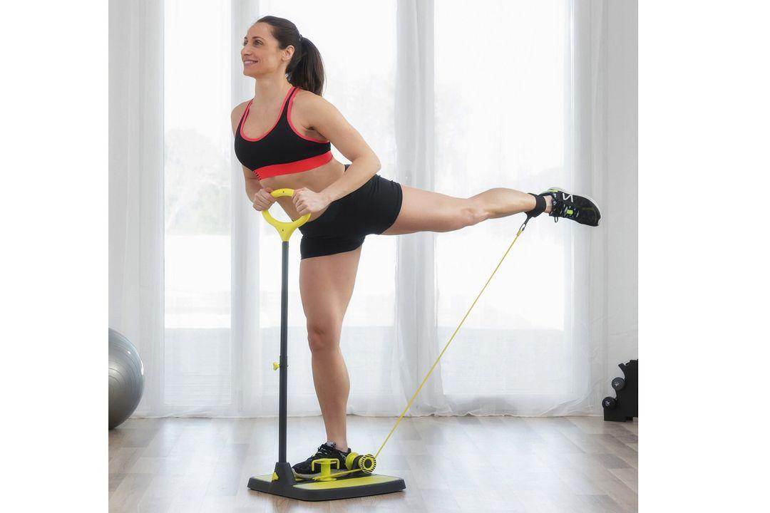 Fitnessplatform voor been- en bilspieren