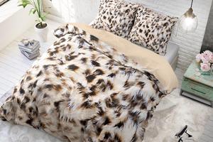 Katoenen dekbedovertrek Cheetah Skin (240 x 220 cm)