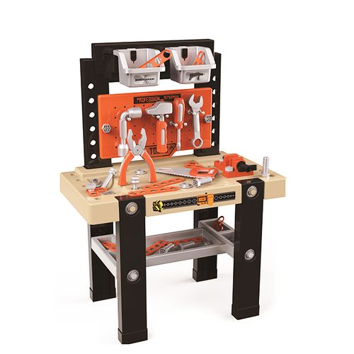 Speelgoedwerkbank met gereedschap (68 x 50 x 27 cm)