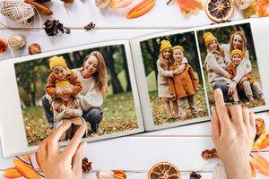Fotoboek staand of liggend van Canvascompany.be