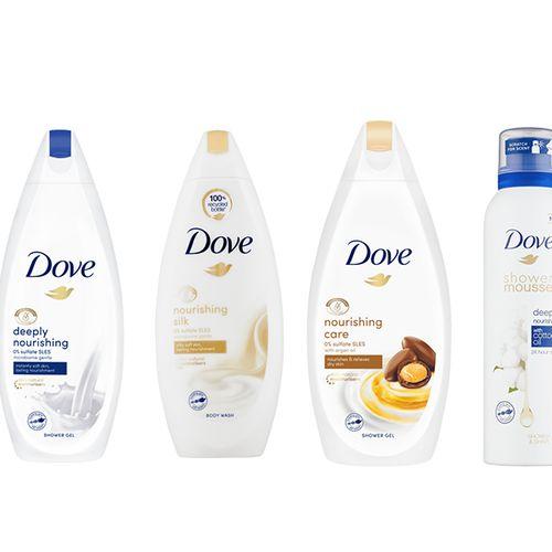 4-delige geschenkset van Dove