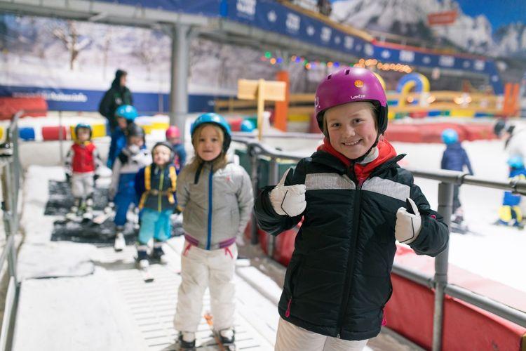 2 uur indoor skiën of snowboarden bij de Uithof (2 p.)