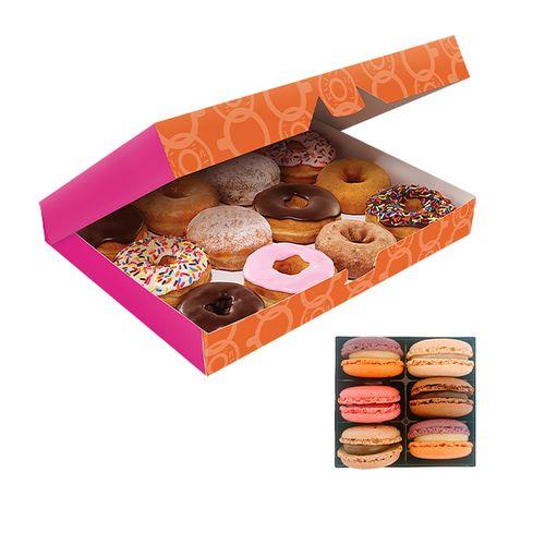 VakantieVeilingen 12 donuts + 6 macarons