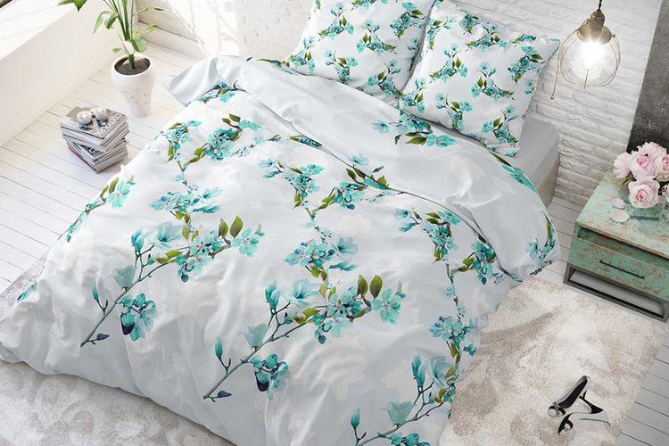 Dekbedovertrek Flower Blush (240 x 220 cm)