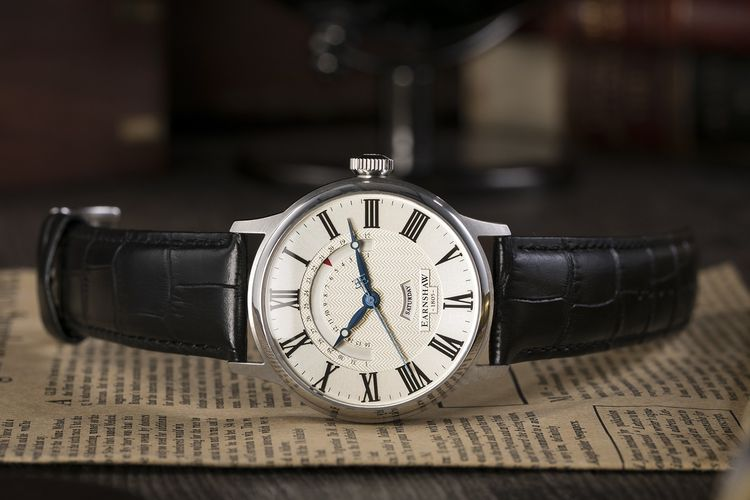 Herenhorloge van Thomas Earnshaw (model: ES-8077-01)