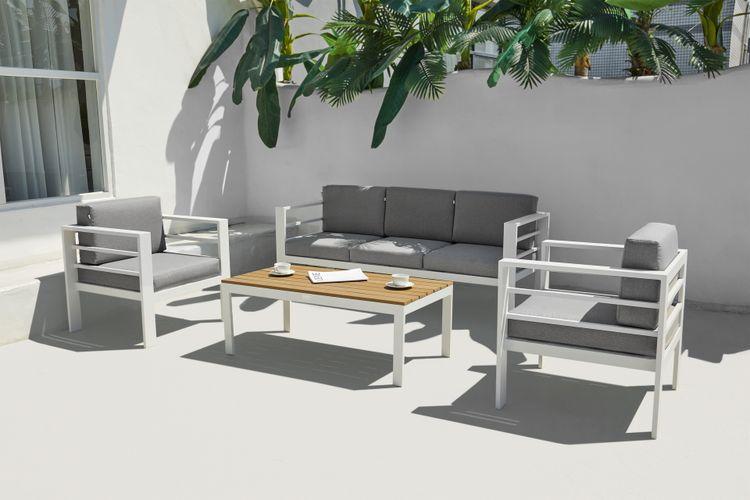 Aluminium loungeset van Feel Furniture (Model: Monaco)