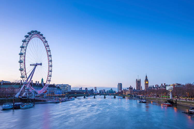 ✈ Londen 3 daagse stedentrip (2 p.)