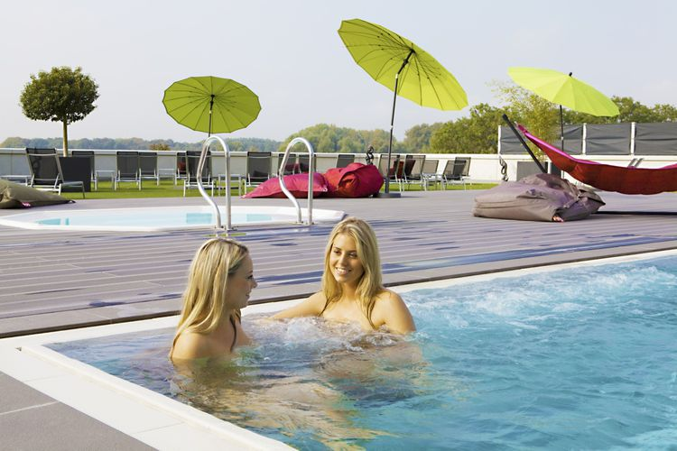 Korting Saunadag plus rasulbehandeling in Wellnessresort Helmond (2 p.)