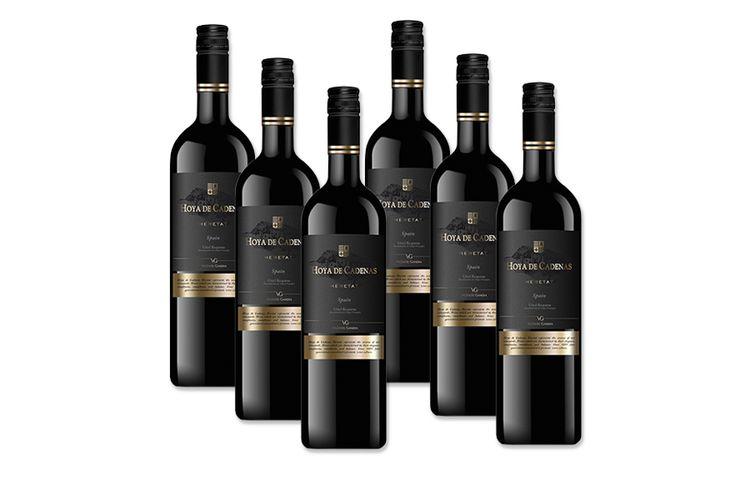 6 flessen Hoya de Cadenas Heretat Tinto (750 ml)