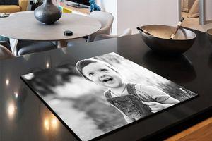 Inductiebeschermer met eigen foto (60 x 55 cm)