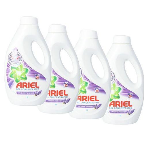 4 flessen wasmiddel van Ariel