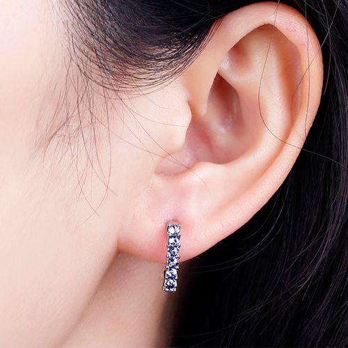Zilverkleurige oorbellen Inna van Diabelle