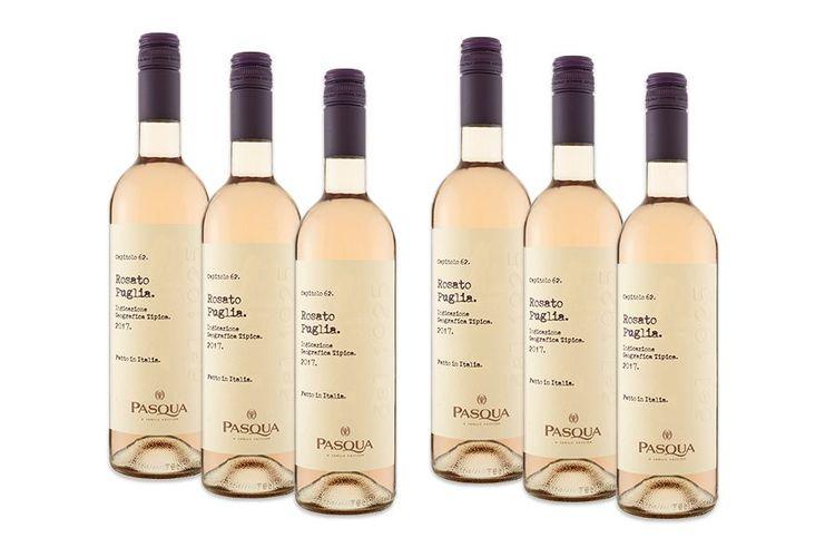 6 flessen Pasqua Le Collezioni Rosato ros� wijn (750 ml)